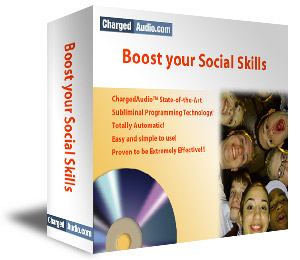 Boost Social Skills Subliminal Cd
