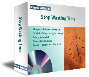 Stop Wasting Time Subliminal Cd