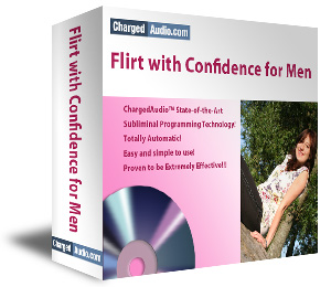 Flirt with Confidence for Men Subliminal Cd