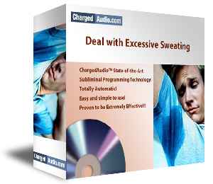 Deal with Excessive Sweating Subliminal Cd